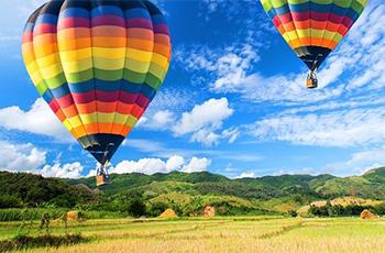 Event Ubytovanie - Let balónom