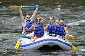 Event Ubytovanie Rafting